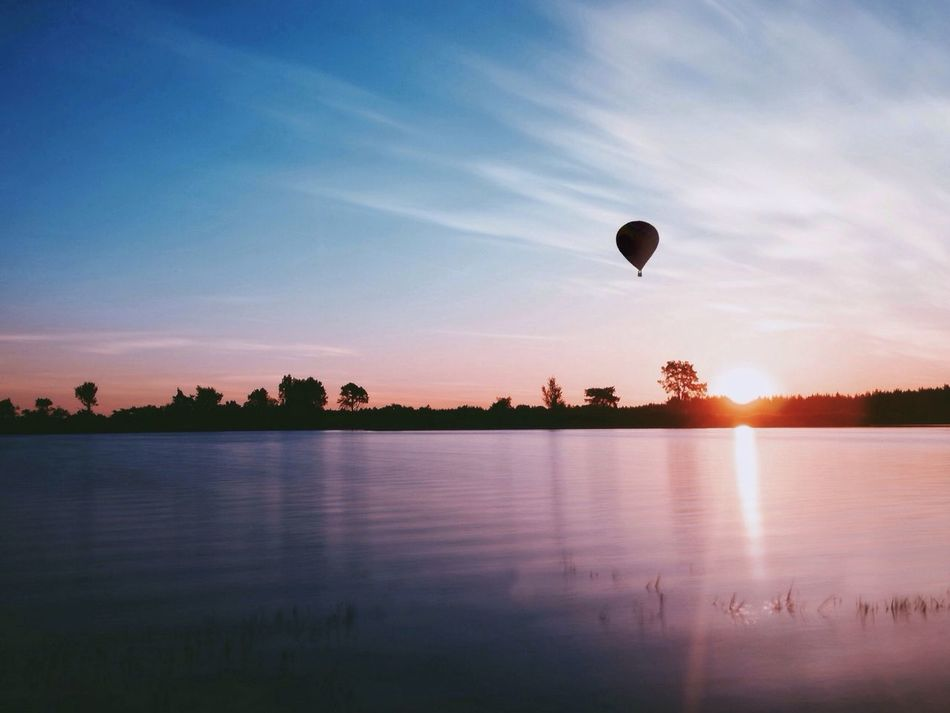 Beautiful stock photos of balloon, Calmness, Cloud, Flying, Hot Air Balloon