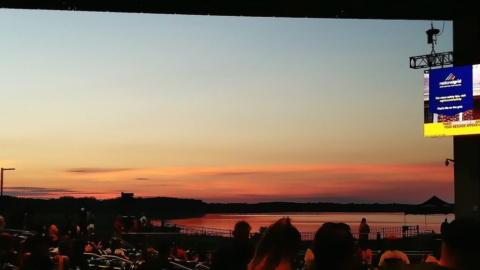 Lakeview Amphitheater Syracuse Ny Syracuse  Sunset Onondaga Lake