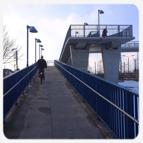 Streetphotography Bridge On The Bridge The World Needs More Blue