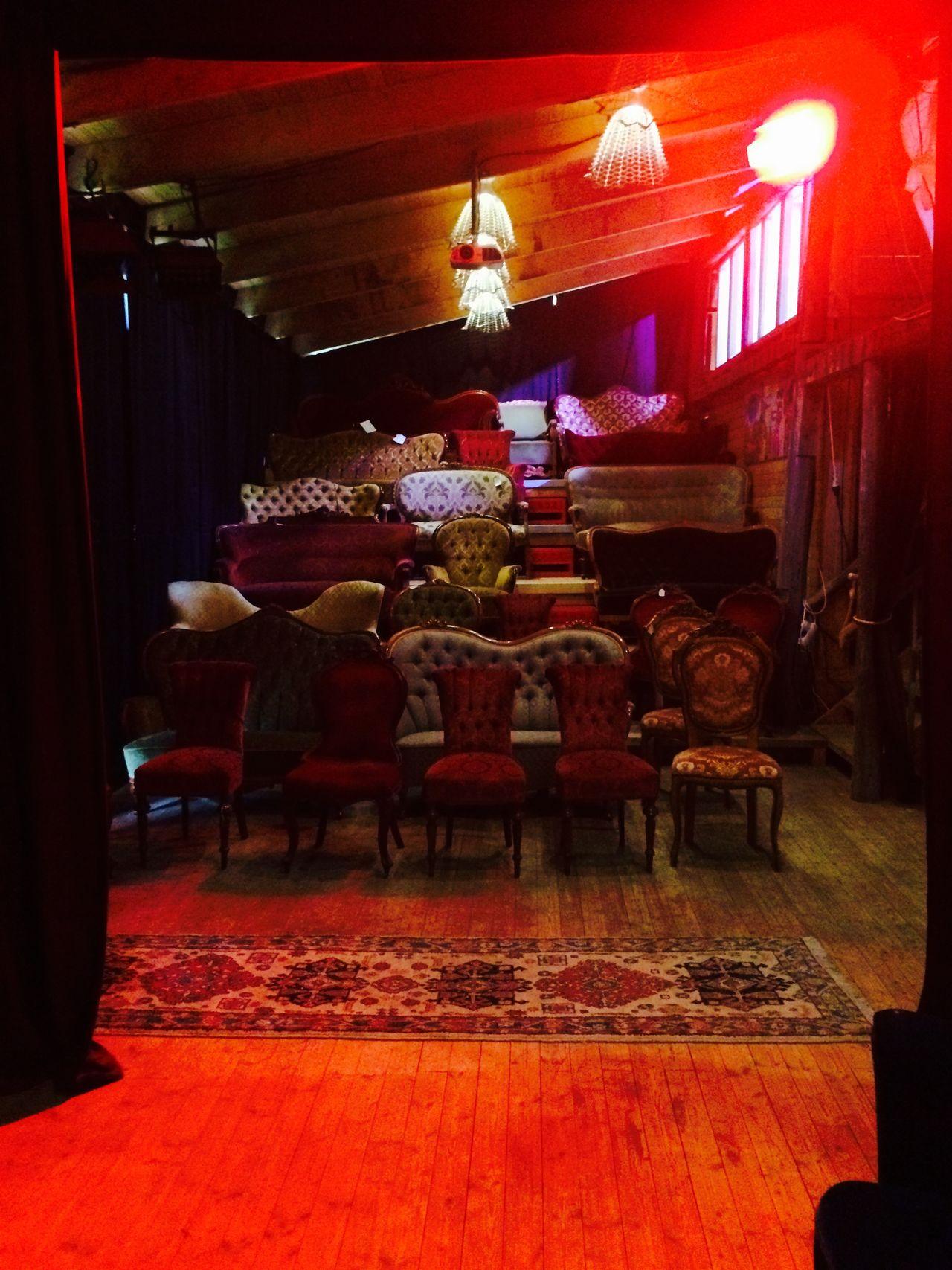 Cinema Chair MOVIE Interesting Pieces Having Fun Architecture Interior Strange Red Cosy Film DavidLynch