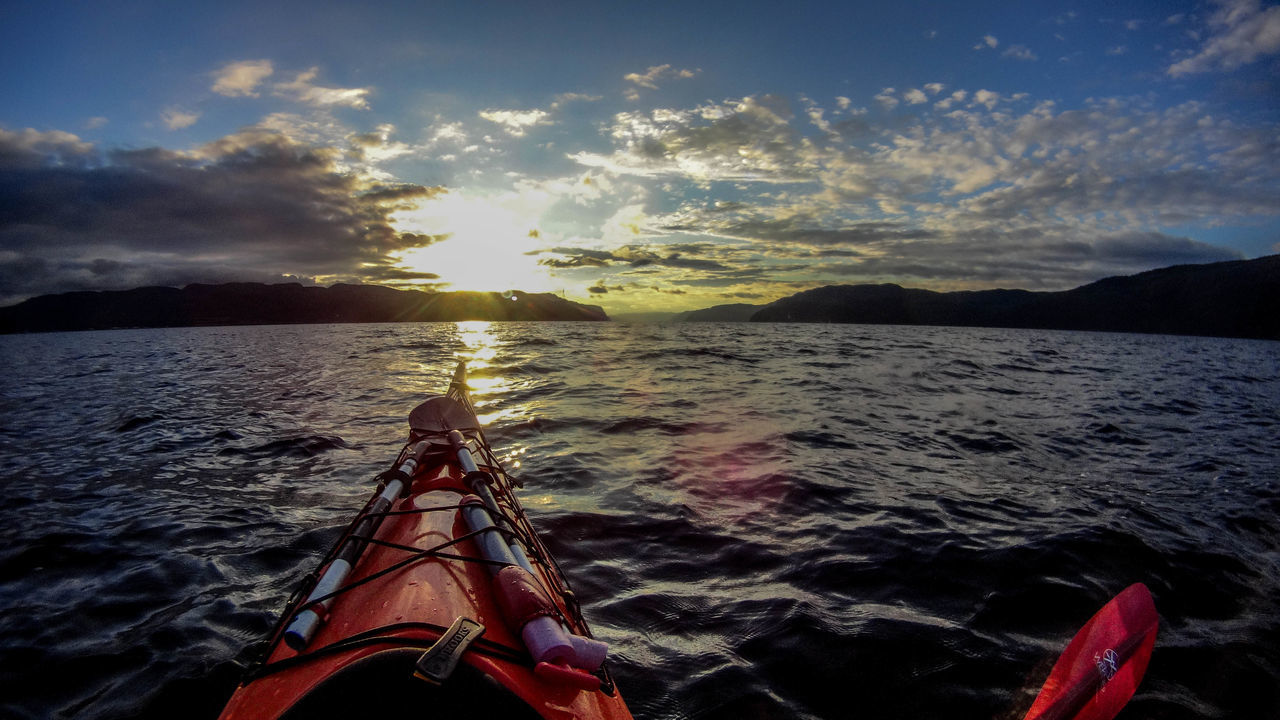 Sea Adventure Kayak Low Section One Person Point Of View Nautical Vessel Vacations Outdoors Outdoor Pursuit People Water Adult Human Leg Alpha58 Canada Alpha Sony River Nature Adults Only Day