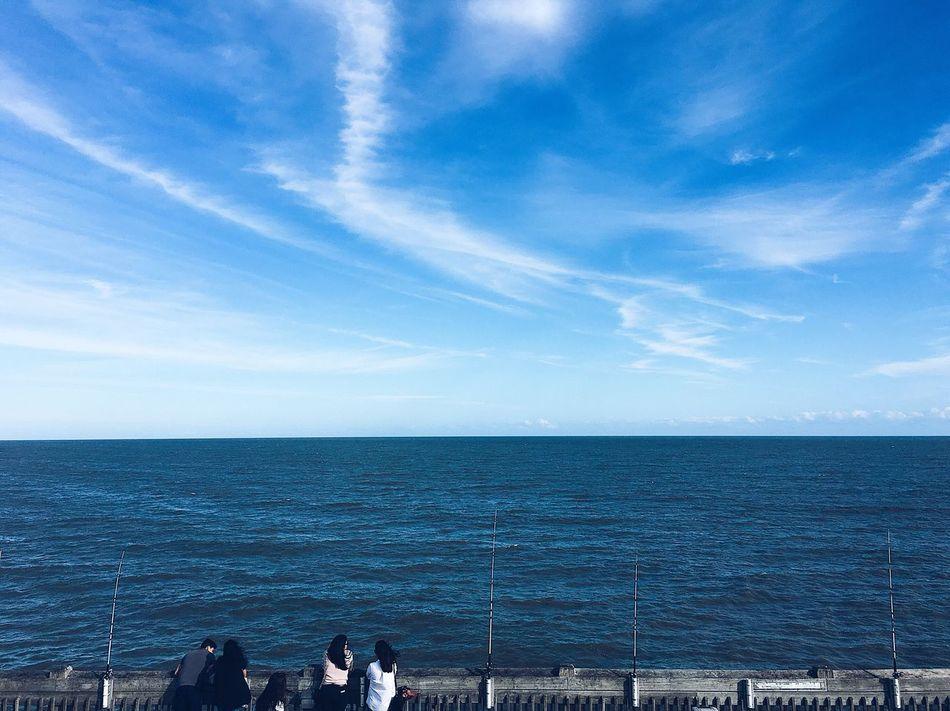 Blue skies. First Eyeem Photo Skies Blue Sky Clouds And Sky