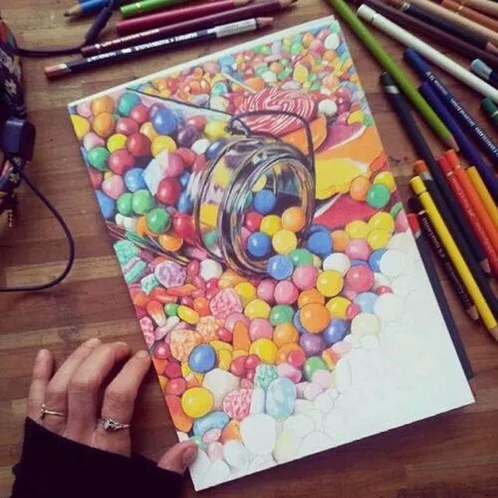 Bonibon Candy çizim