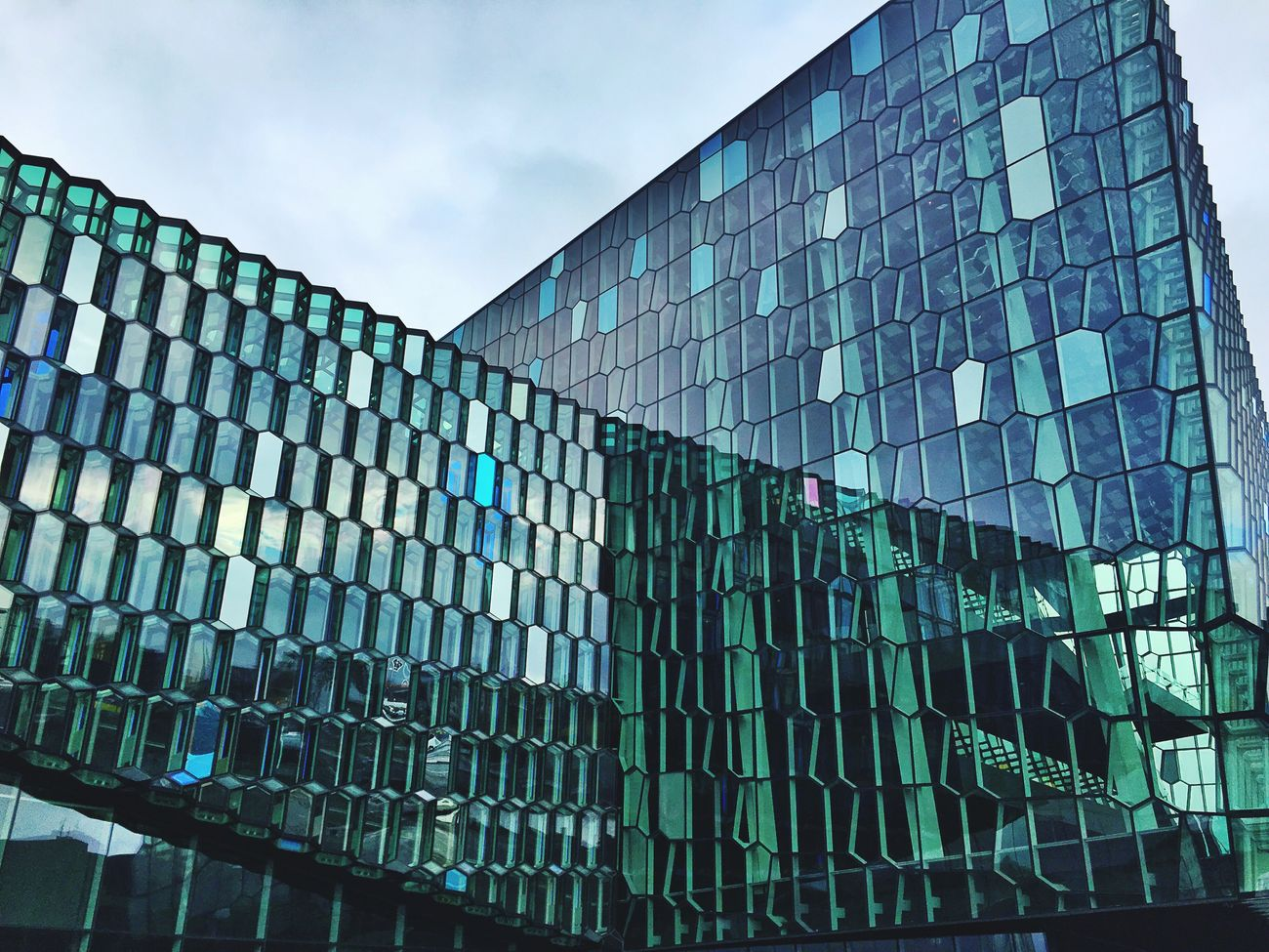 Glass Windows Architecture Green Opera House Reykjavik Great Place Iceland116 Iceland_collection