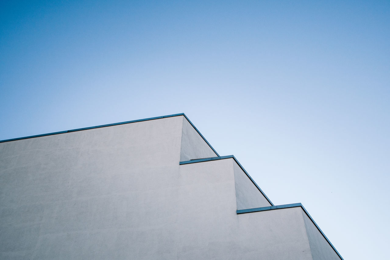 Beautiful stock photos of pattern, Architecture, Built Structure, Clear Sky, Copy Space