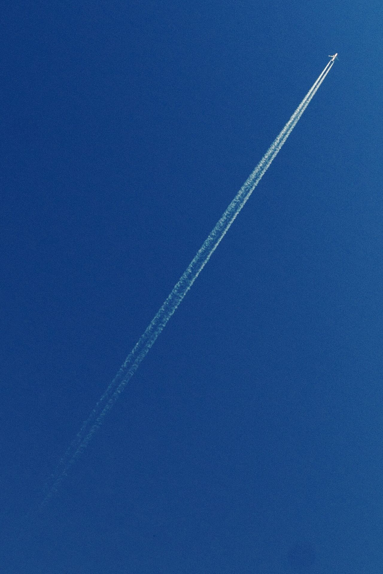 Airoplane Smoke Fly Me To The Moon Vapor Trail Flying Blue Air Vehicle Sky Day Clear Sky Outdoors Contrail Low Angle View Airplane Nature Beauty In Nature Scenics Airshow No People