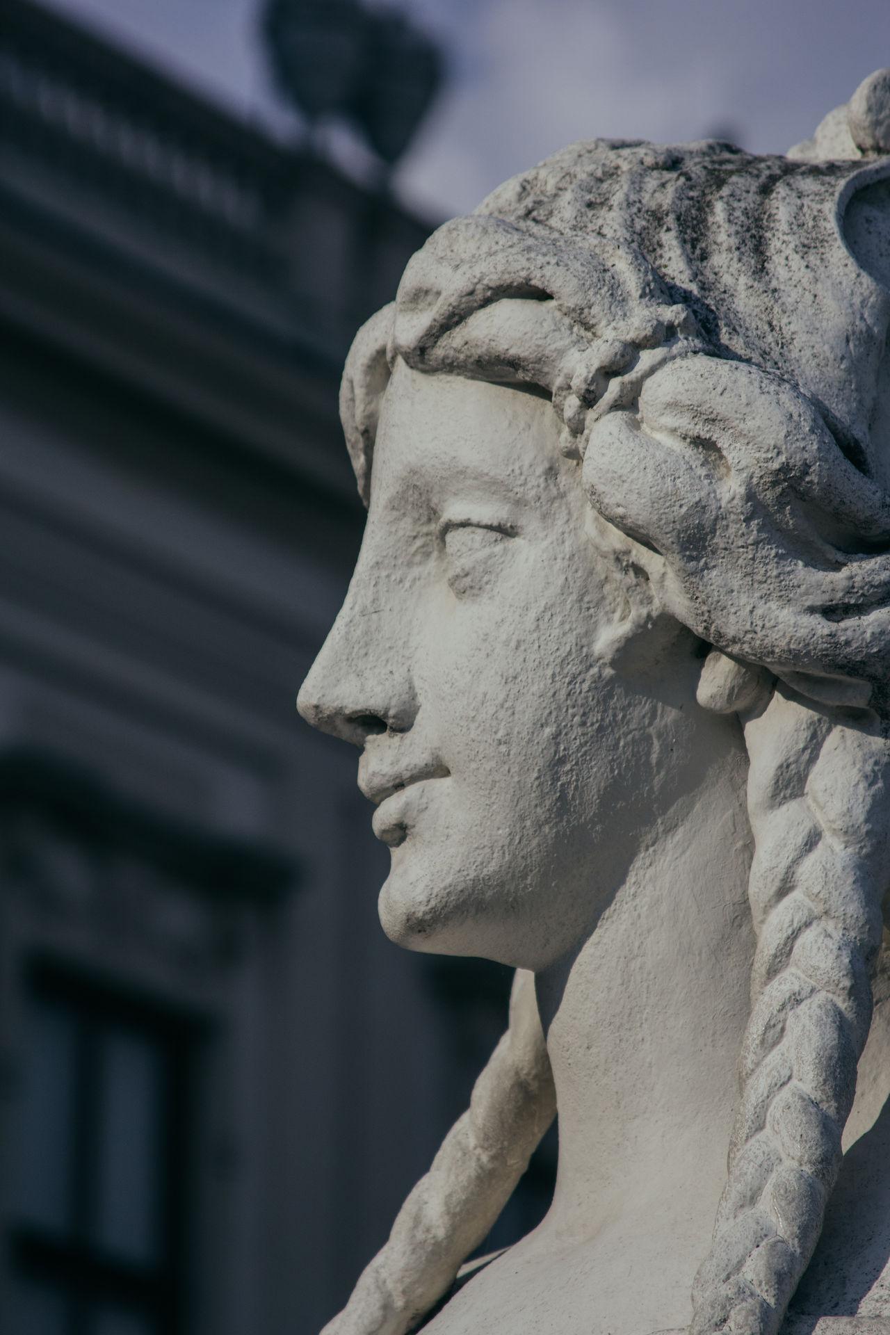 Art Close-up History Human Representation Outdoors Sculpture Statue Stone Material