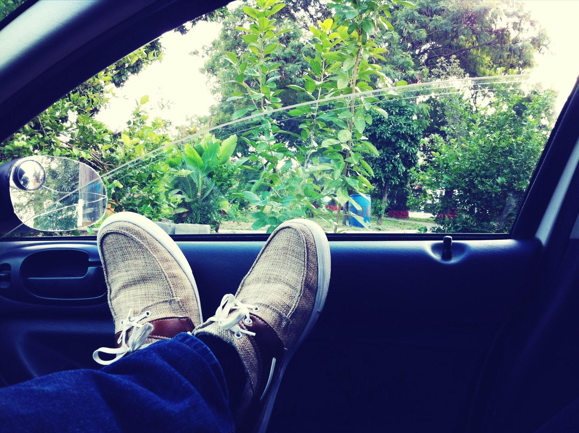 Wating Relaxing Car Sunset