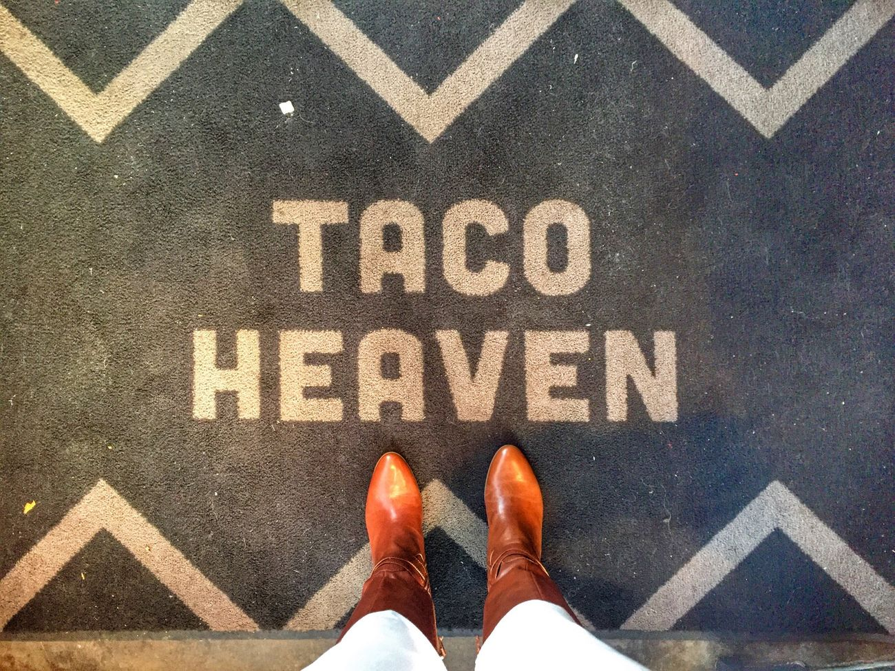 Yes, indeed. Share Your Adventure Day Date Get Inspired Winter Days Beautiful Day Taco Lovers Boots Foodie Tacos White Jeans