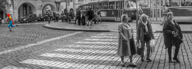 Streetphoto_bw Streetphotography Blackandwhite Prague