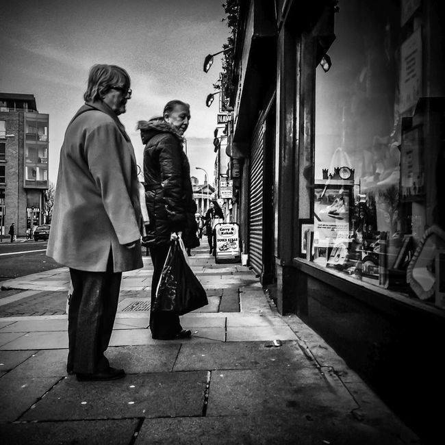 Streetphoto_bw EyeEm Best Shots - Black + White Monochrome NEM Street EyeEm Dublin