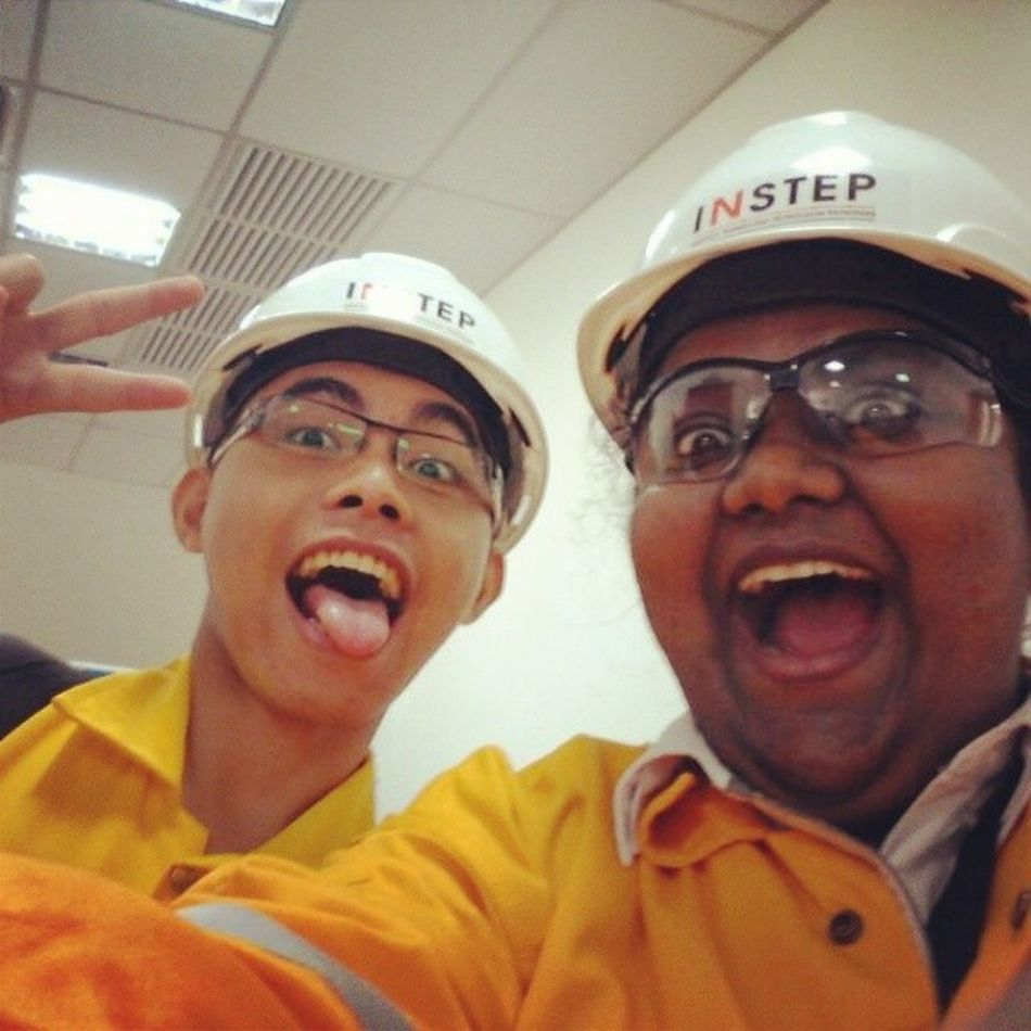 Its not our fault that we are just toooo awesome. Petronas Instep