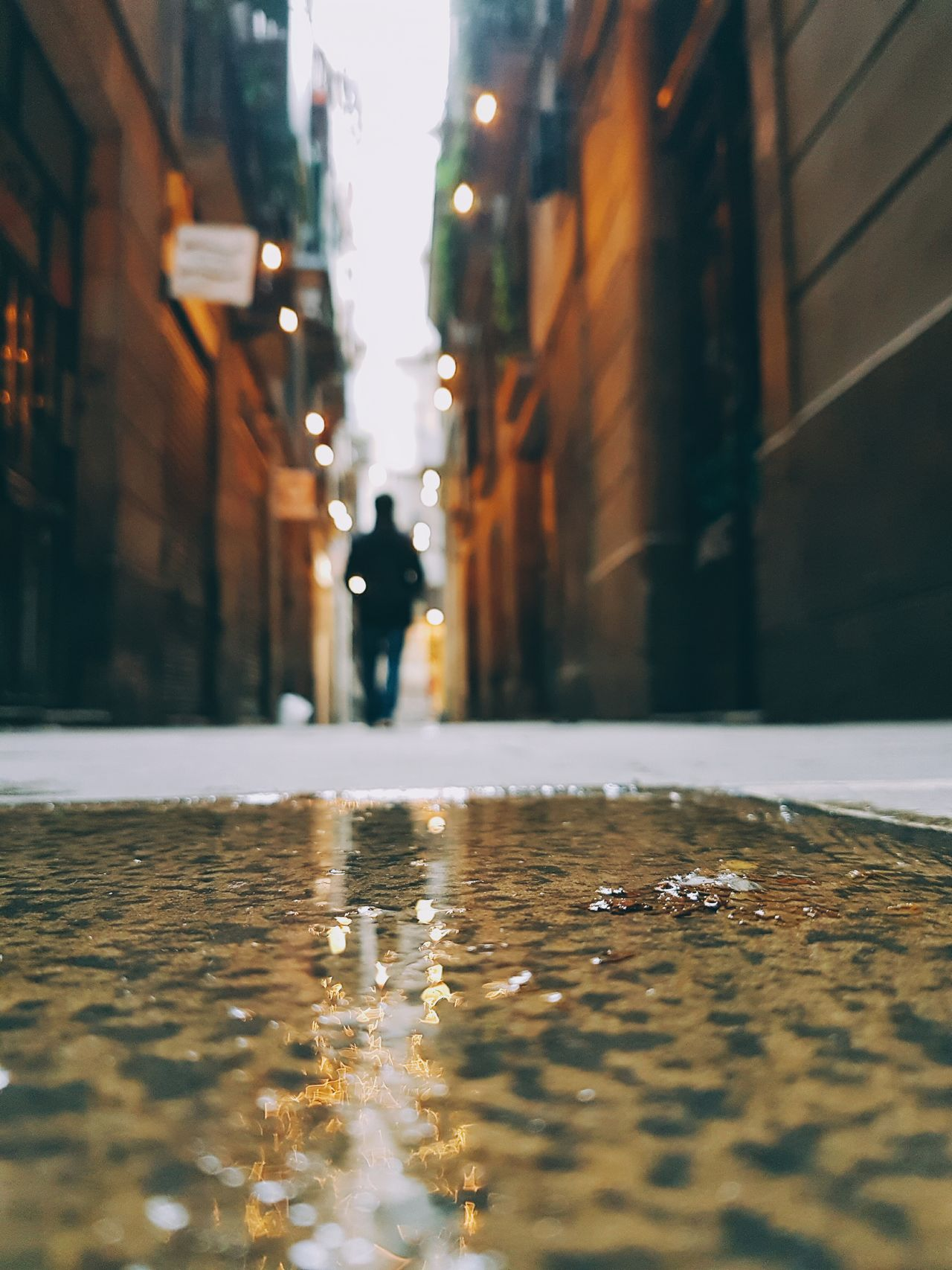 Street City Wet Outdoors Building Exterior Reflection Water City Life Built Structure Architecture Puddle Sunset Surface Level Day Nature No People Urbanphotography EyeEm Best Shots Eye4photography  City Life Travel Destinations