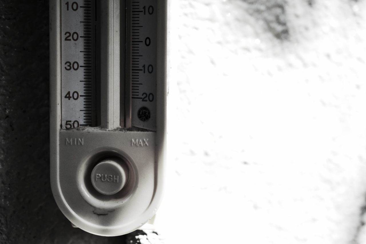 EyeEmNewHere Number Temperature Close-up Thermometer No People Day Exceptional Photographs Black And White Monochrome Minimal SIMPLY Minimalism Light And Shadow