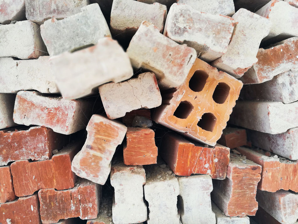 Backgrounds Brick Bricks And Stones Confusion Different Direction Redbricks Sort Workplace