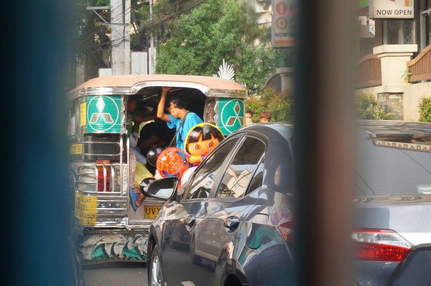 Streetphotography People Manila San Juan City Philippines Street Transportation Local Jeepney