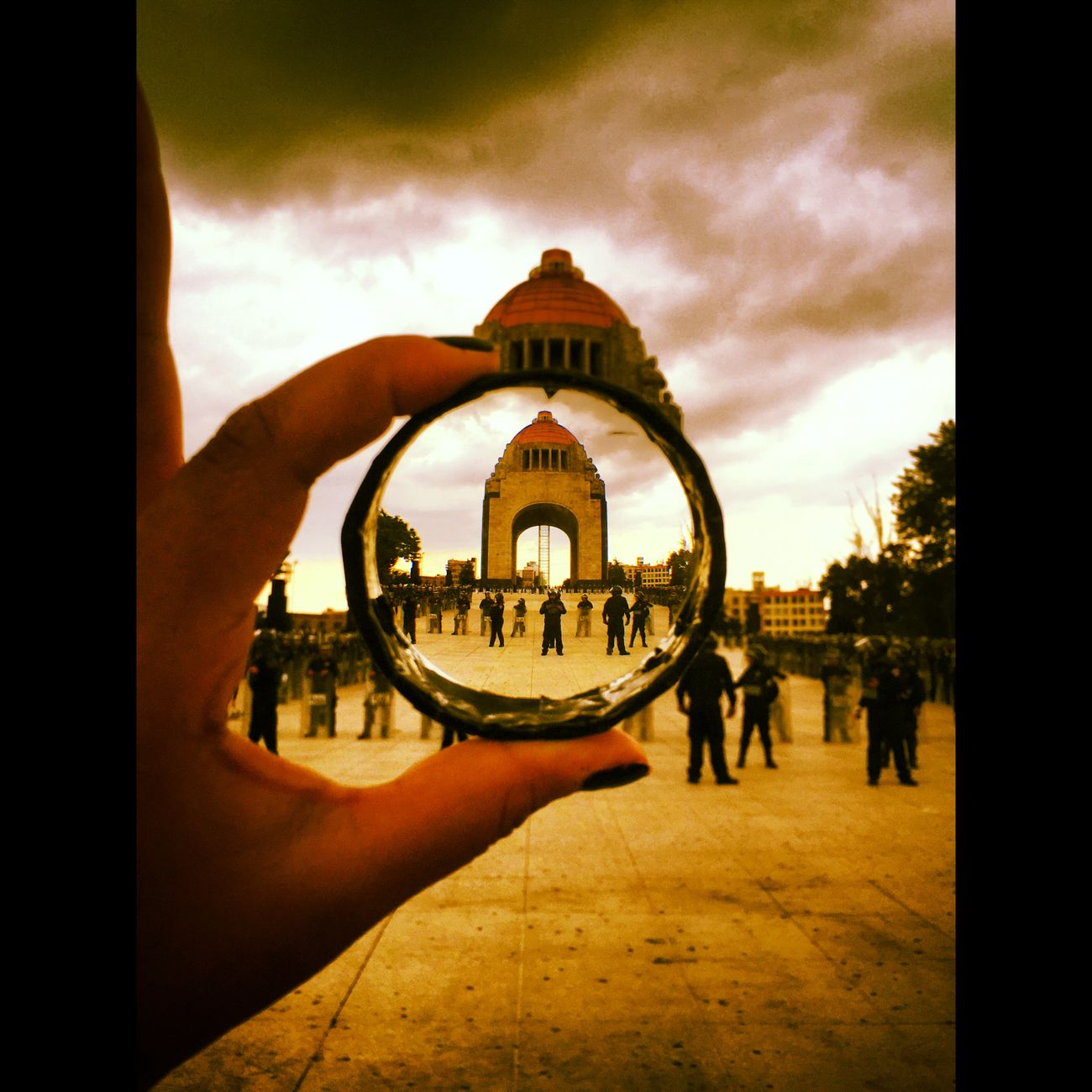 Monumento Revolucion Mexicocity  D.f Ciudad Photo CirceLozada (null)Photography Photojournalism Ciudad
