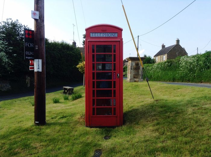 Old Fashioned Phone Box