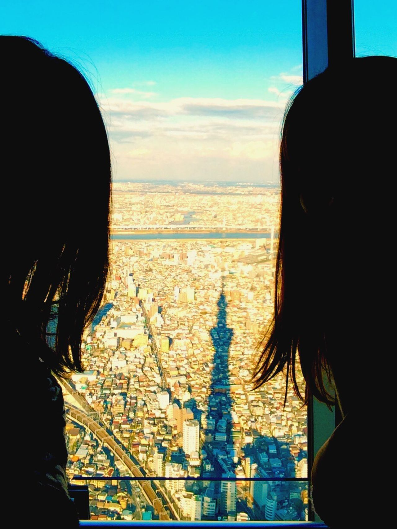 Sky Rear View Real People Cityscape Cloud - Sky Architecture EyeEm Eyemphotography Tokyo Japan Skyscraper Skytree Friendship Enjoying Life Enjoying The View