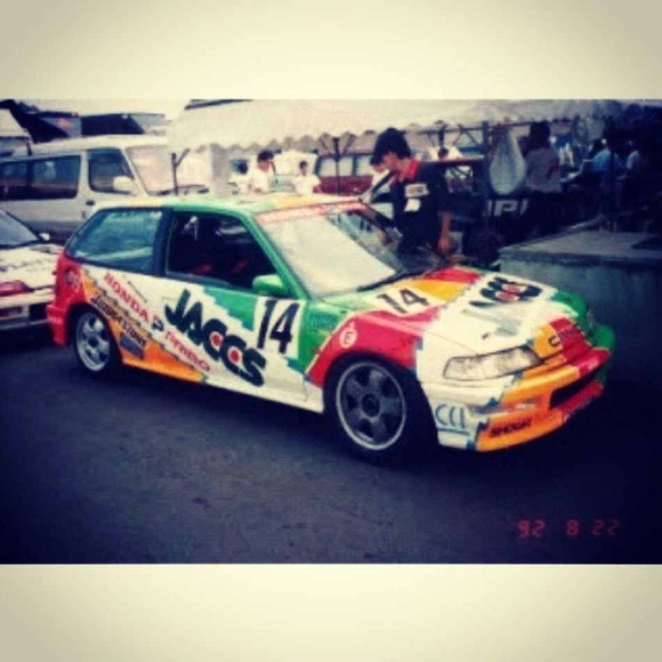Love this pict..... Honda Nouva Mugen Jtcc