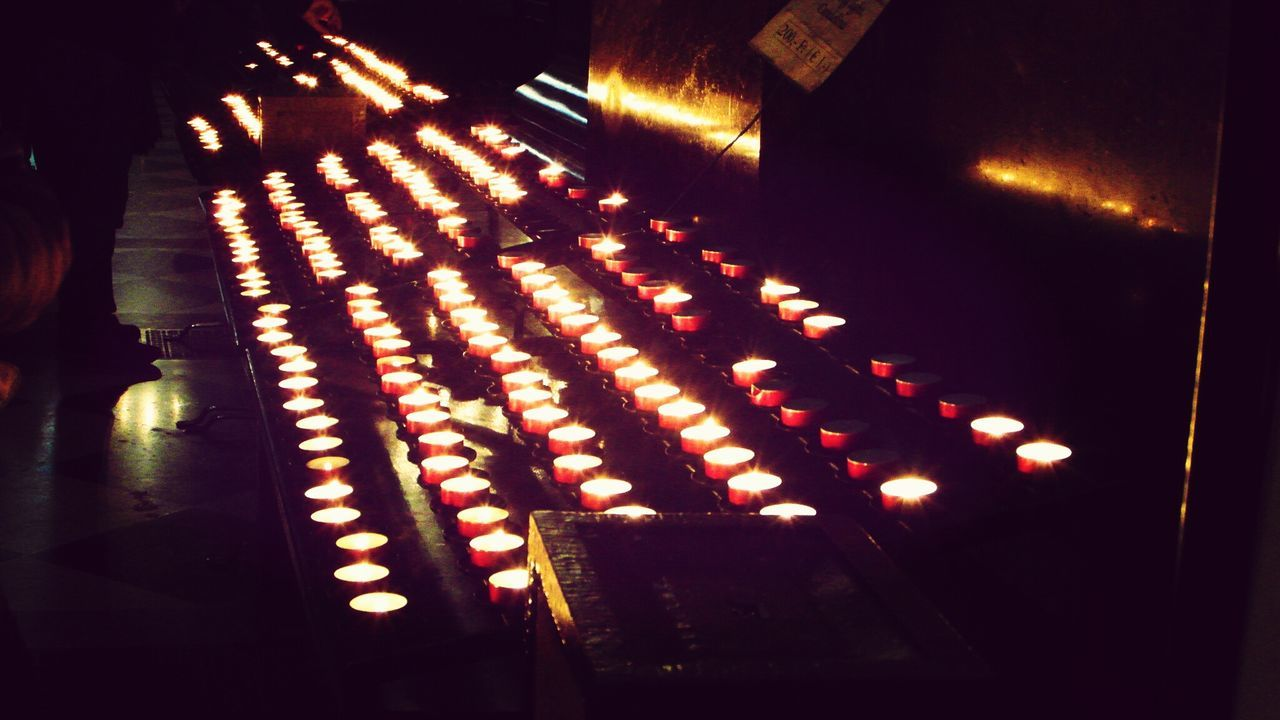 Budapest Church Candles