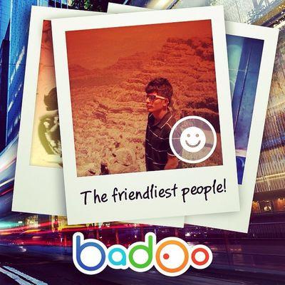 I'm just one of the friendliest people of the week on Badoo ! LOL @badoo