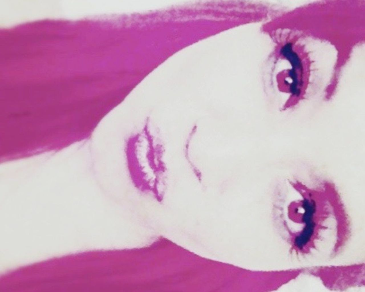 Peka Cure Beautiful Crazyness Rules Red Lips Cherry Kisses Bigbrowneyes Lifestyles Close-up Eyemface Headshot Beautiful People
