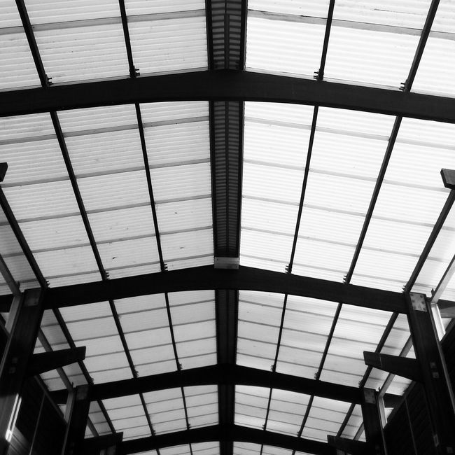 Black And White Symmetry Looking Up The Architect - 2015 EyeEm Awards