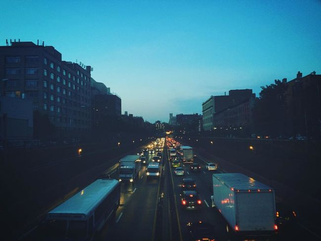 Architecture Blue BQE Brooklyn City Life Modern NYC NYC Photography Sad Somber Traffic