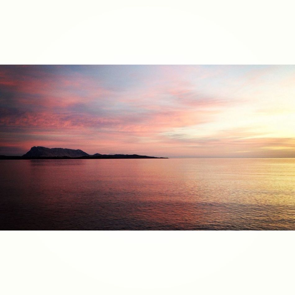 Soothing 16x9 Sardegna Sunrise Sea
