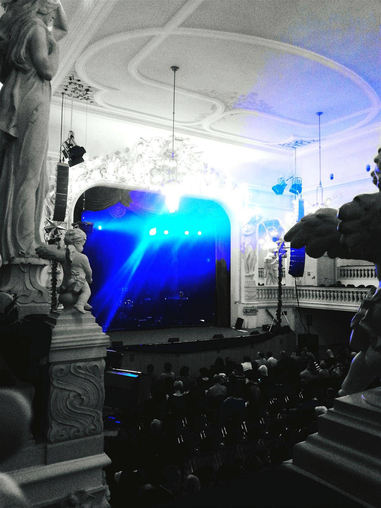 Farbenspiel Blaueswunder Blau Concert Konzert Gothic Beauty