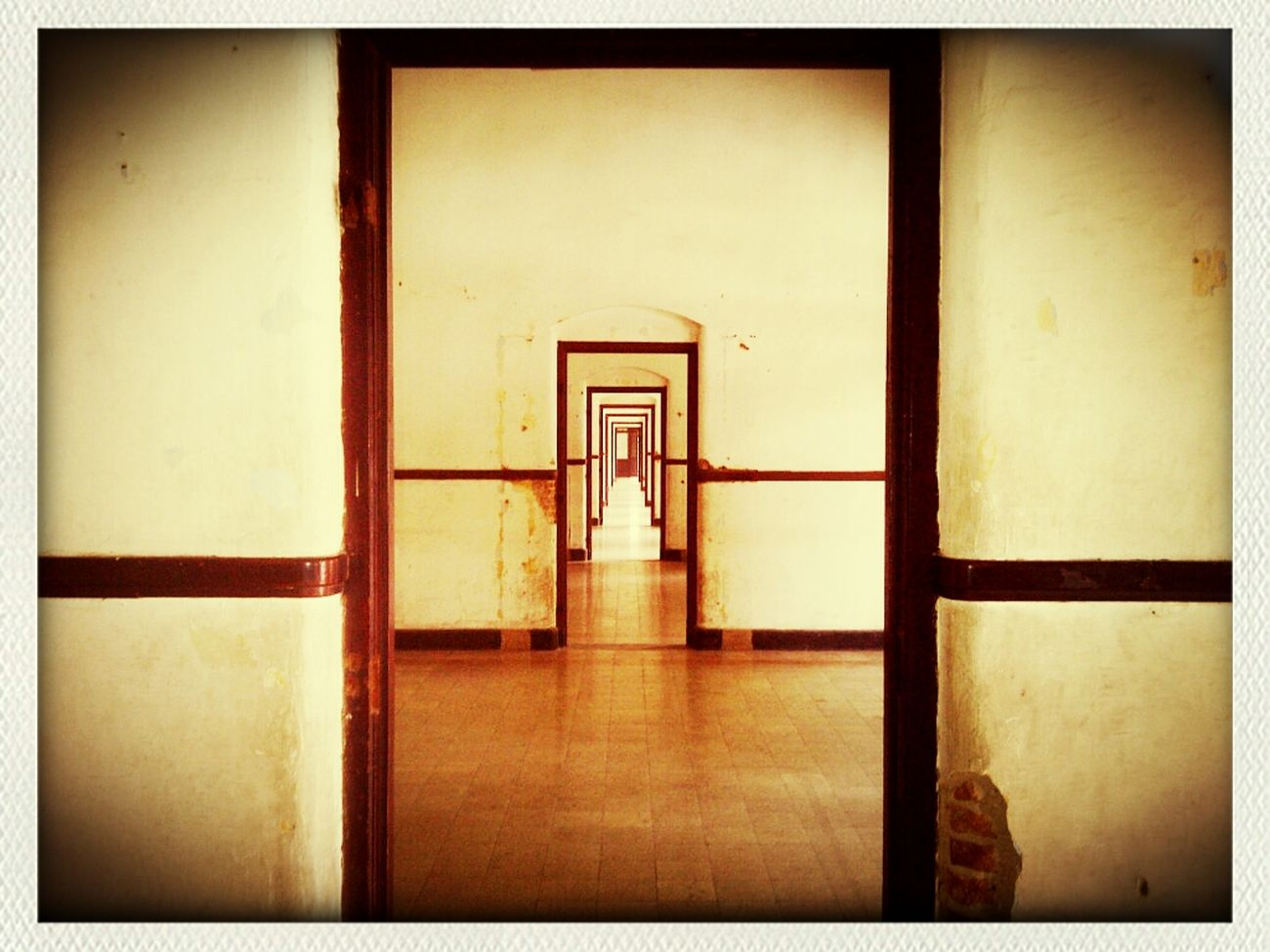 The Doors At Lawang Sewu