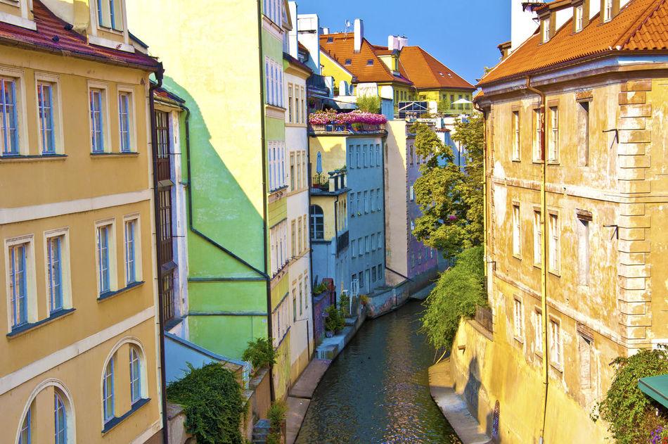 Beautiful stock photos of prague, Architecture, Building Exterior, Built Structure, Canal