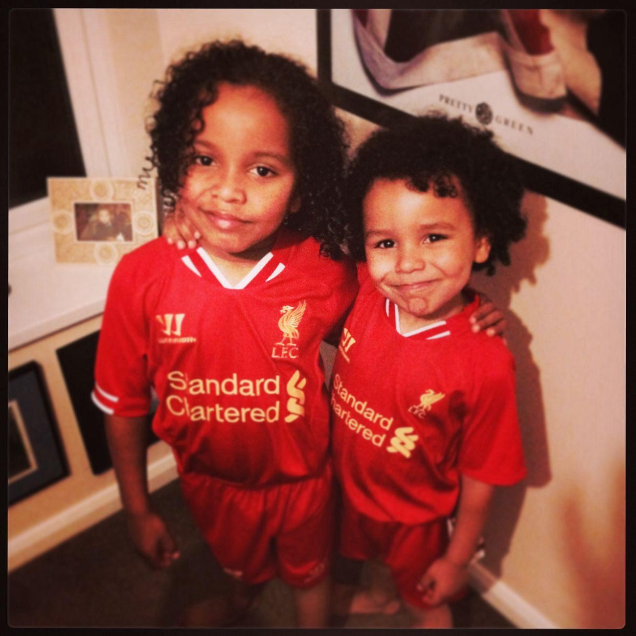 the boys ynwa Liverpool Soccer My Boys Anfield