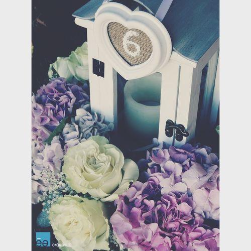 Flower wedding center pieces - centros de flores para bodas de Créativité Wedding Flowers Centrepiece Event Planners Flores Bodas