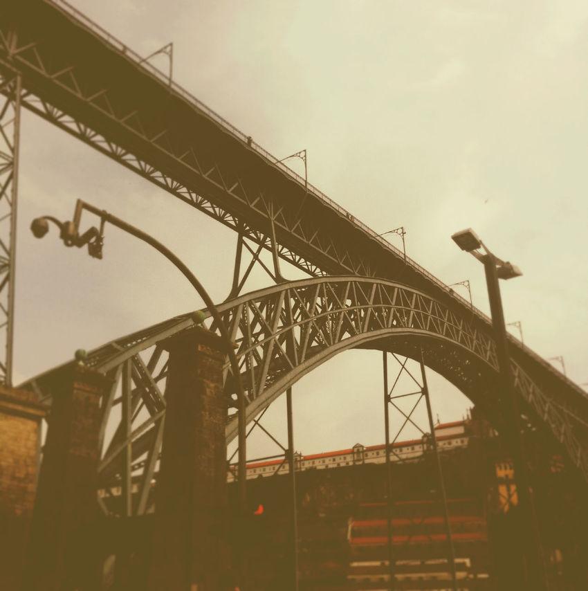 Hanging Out Taking Photos Enjoying Life Porto _Portugal Ponte D.Luis Ribeira Beautiful Arquitecture