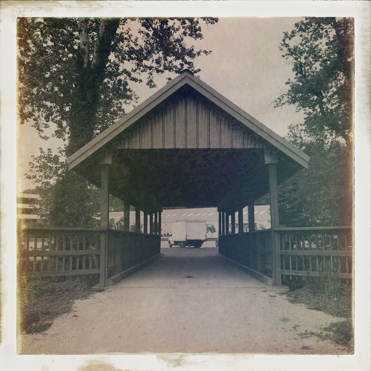 A Frame Within A Frame Covered Bridge Indiana Home