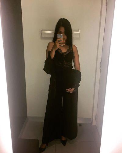 Sorry is not mine Mirror Lifestyles Fashion Black Lace Mlife Selfie ✌ Long Hair Love Enjoying Life Girlnightout Femininity