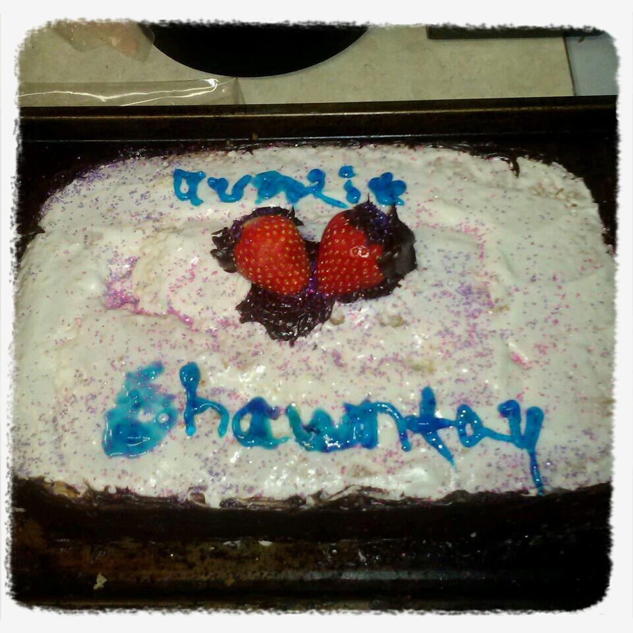 My Niece Made Me A Auntie Birthday Cake