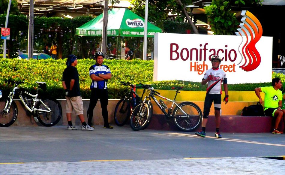 Street Photography Cyclists Exercise Urban Landscape EyeEm Best Shots Taking Photos EyeEm Manila BCG Color Photography