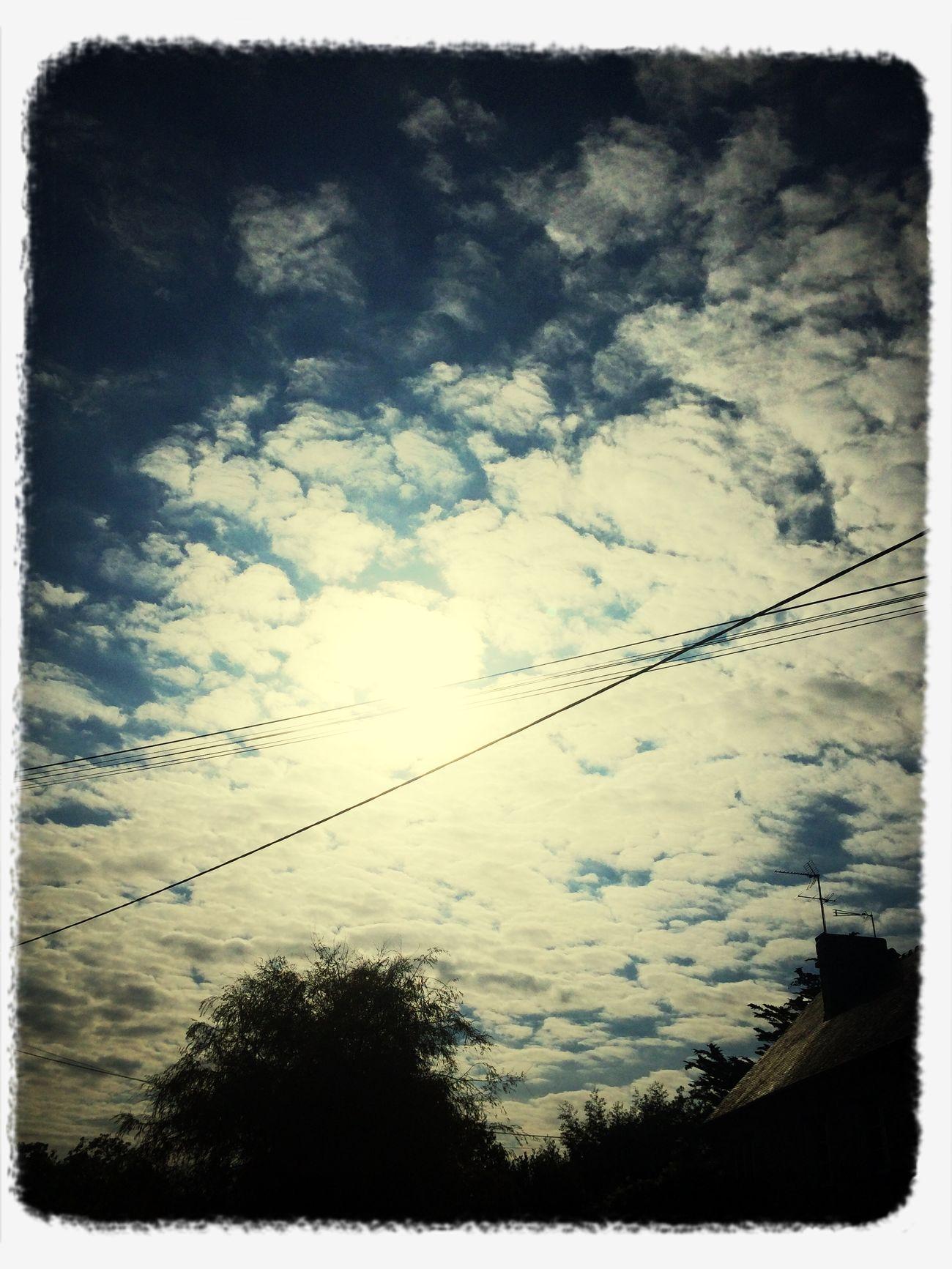 Le ciel en Bretagne ..