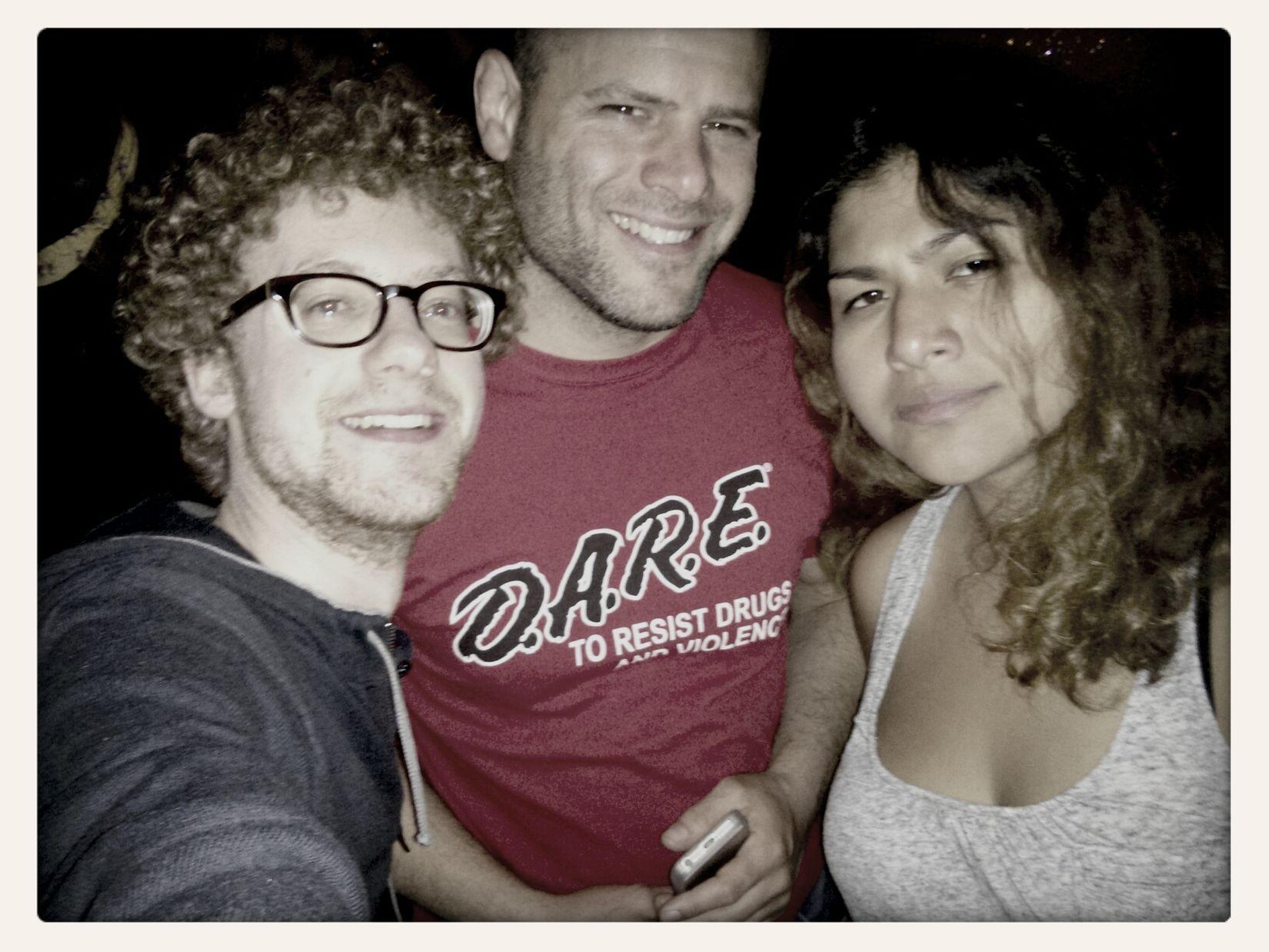 San Francisco nights. Party Bar Friends