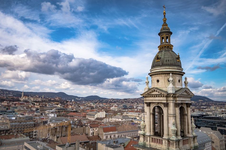 Architecture Building Exterior Built Structure City Cityscape Cloud - Sky Day Dome No People Outdoors Place Of Worship Politics And Government Religion Sky Travel Destinations Urban Skyline