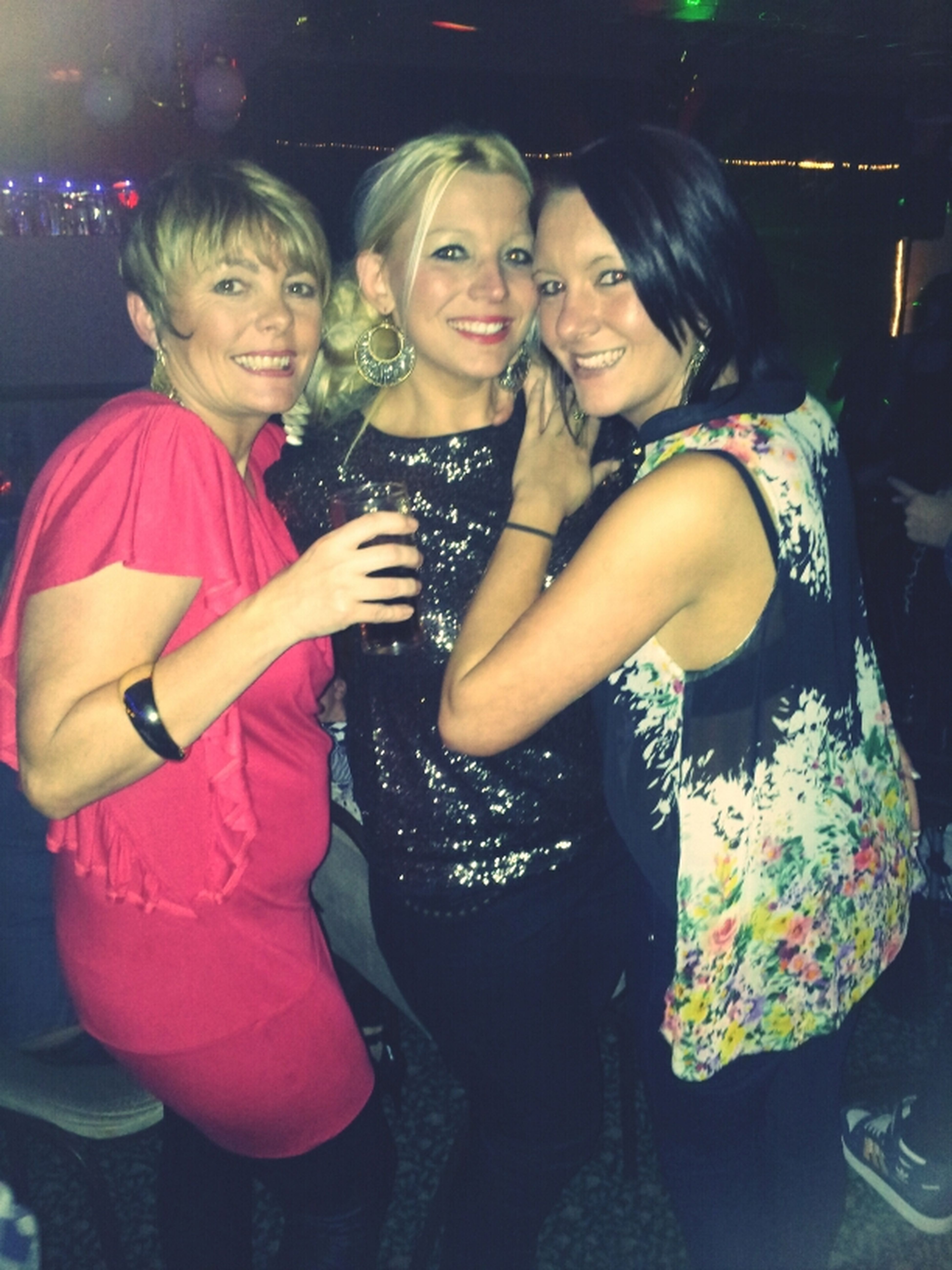 Seeing the new year in with my girlies 2012