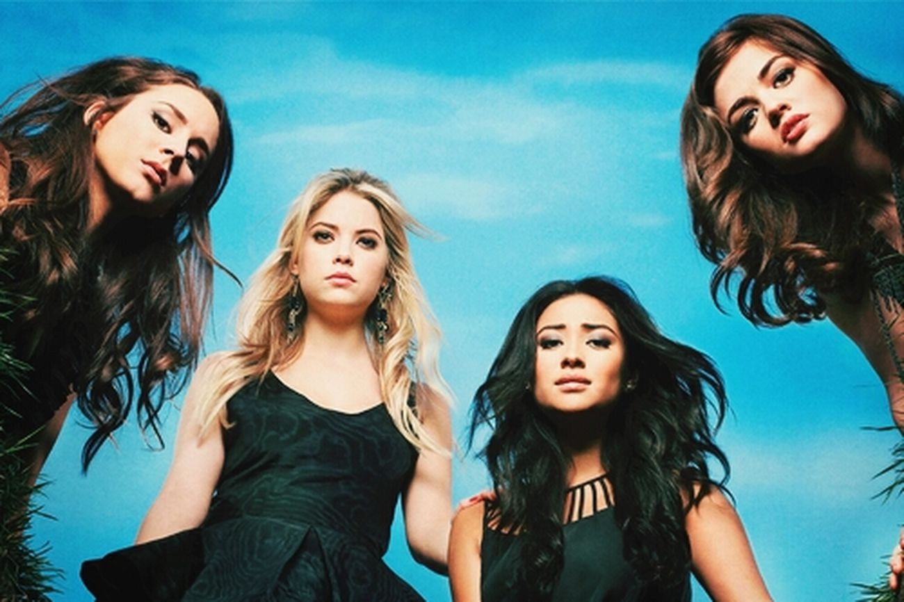 Pretty Little Liars Happy Girls Are The Prettiest  Dangerously Sexy Love Them