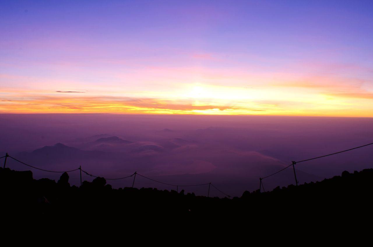 Mountains Dawn Mount FuJi Clouds Sunrise EyeEm Best Shots - Sunsets + Sunrise