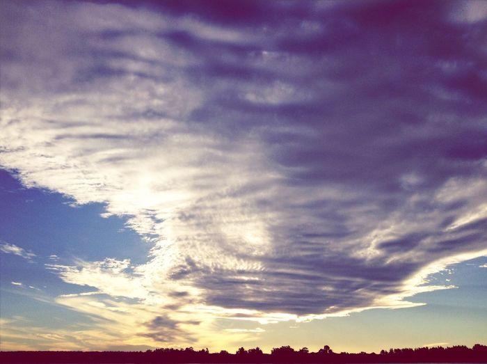 Cloud Clouds Sky Nature