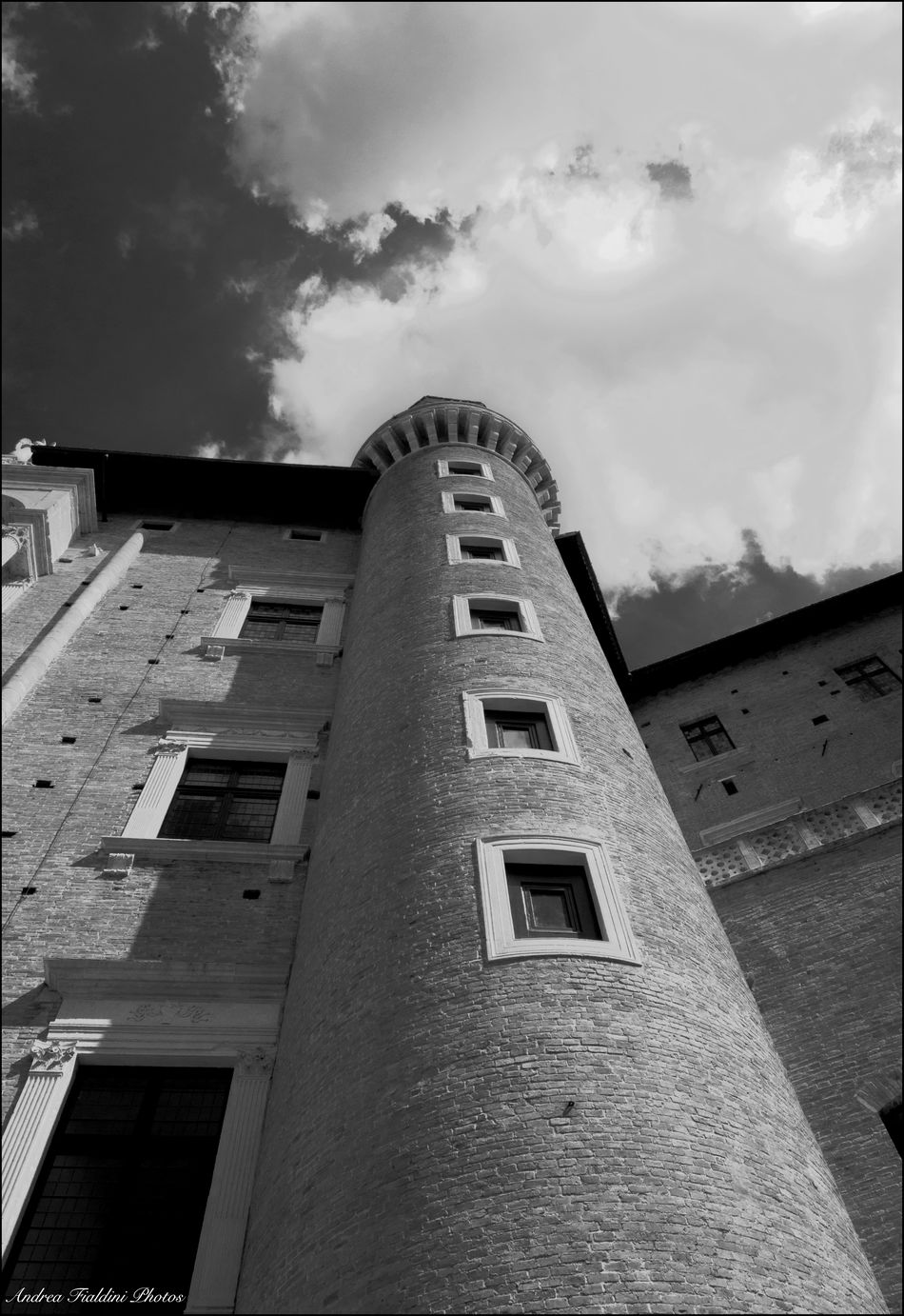 Architecture Architecture ArtWork Blackandwhite Building Exterior Built Structure Bw City Street Cloud - Sky Day Italy Low Angle View No People Orvieto Italy Orvieto, Italy Outdoors Sky Window