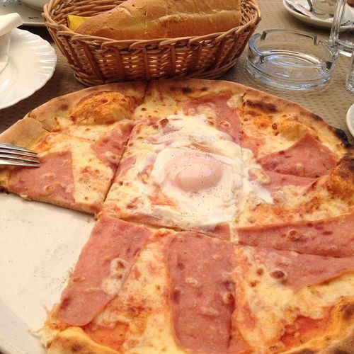 Pizza Pizzavoulcano вкусняшки пицца