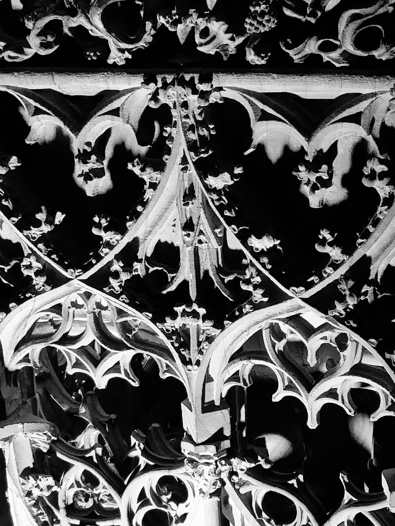 Strasbourg Cathedral Stonework ArtWork Light Shadows Church Altars Monochrome Photography TakeoverContrast